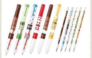 01/19 Zebra Japan Meiji sarasa select 3 ink / 5 ink barrel / ink