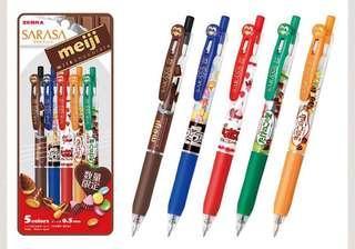 01/19 Zebra Japan Meiji 0.5 Sarasa Pen