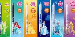 01/19 Uni Japan Disney Princess Kurutoga pencil