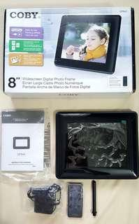 """""""Coby"""" DP843 8-Inch Digital Picture Frame (Black)"""