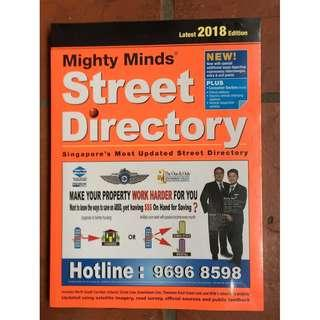 BNIB Mighty minds 2018 street directory map of Singapore