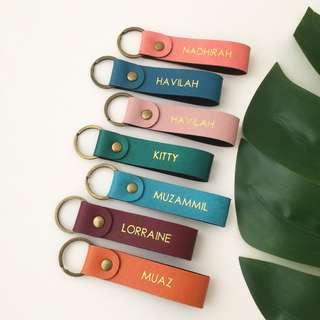 Personalised keychain name keychain personalised gift custom keychain door gift party favours Valentine gift