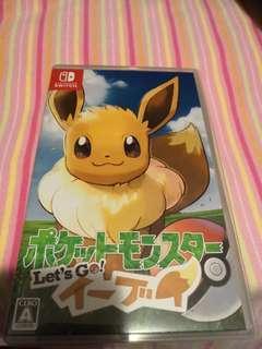 Pokemon 寵物小精靈,switch, eevee version