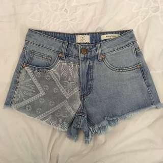 Mid Saturday Summer Denim Shorts