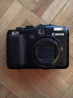 Canon G11 digital camera