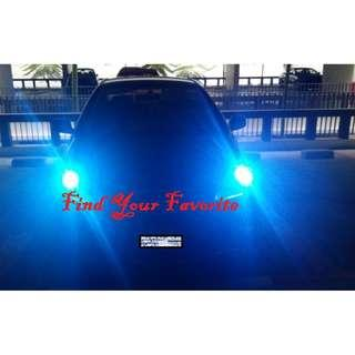 Toyota Vios on T10 type super bright CREE project lens pole light - all cash&carry only - read Description