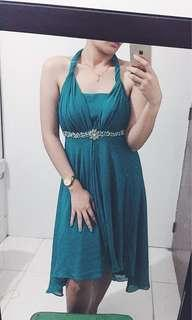 Formal Teal Dress