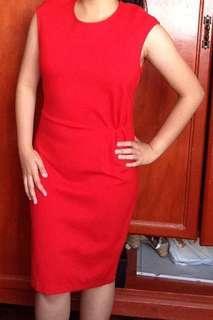 H&M Red formal dress