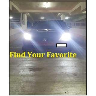 H4 LED Headlight CREE Eutectic chips slim type on Mitsubishi Lancer CS3/GLX - Cash&Carry NO INSTALLATION INCLUDED.