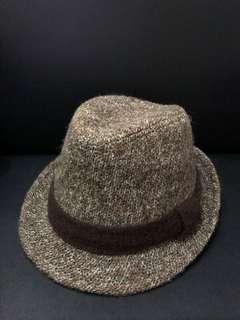 日牌SHUCA 啡色混色冷布坤士帽