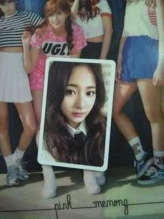 """Twice Tzuyu Likey """"Twicetagram"""" Photocard"""