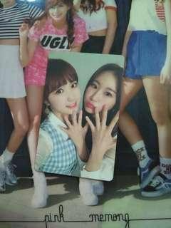 IZONE Unit Photocard (Hitomi/Chaeyeon)