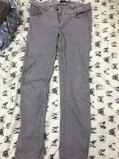 🚚 緊身灰色長褲