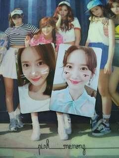"SNSD YoonA ""So Wonderful Day in SG"" Photocard Set"