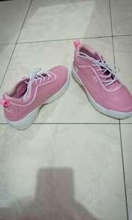 jual sepatu fila warna pink putih