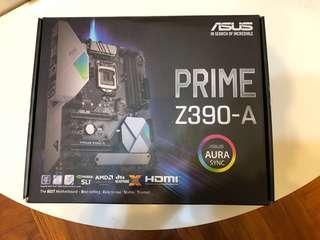 全新Asus Z390 Prime-A