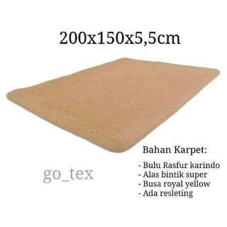 Karpet bulu 200x150x5,5cm