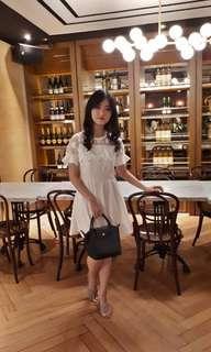 Korean white dress
