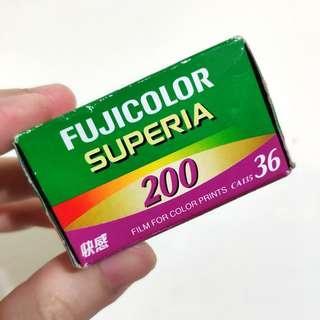 🚚 全新 過期底片 FUJICOLOR SUPERIA 200