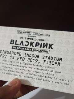 Blackpink CAT 2 SECTION 212 IN YOUR AREA WORLD TOUR SINGAPORE