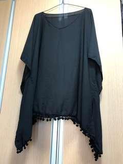 Black Dress/Cover up