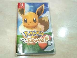 Lets go eevee nintendo switch