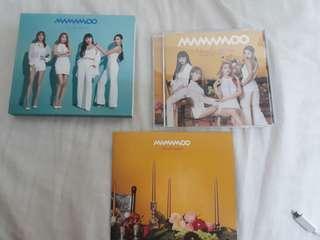 🚚 mamamoo 日專初回B版