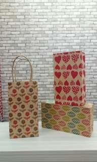Mini Paper Bag Motif Campur Portrait