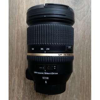 Tamron SP 24-70mm F2.8 VC Nikon mount