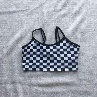 Checkerboard top forever 21