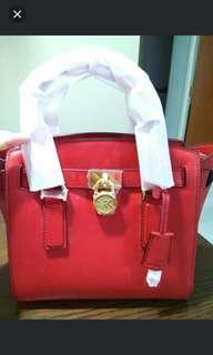 🚚 Clearance * Michael Kors Hamilton Leather Bag