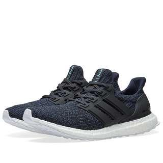 d0dc67f26e7c Adidas X Parley Ultra Boost 4.0 Legend ink Carbon Core black