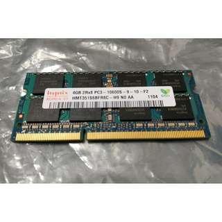 Hynix HMT351S6BFR8C-H9 SODIMM 4GB DDR3 1333MHz PC3-10600