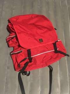 Bathing Ape Military Backpack (Red)
