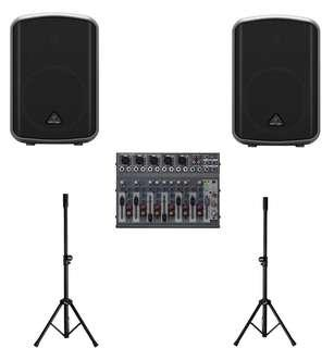 Rental Portable Battery Operated PA Sound System