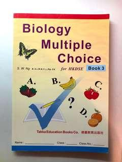 Biology Multiple Choice for HKDSE Book 3