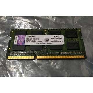 Kingston 4 GB DDR3 RAM 1333MHz SODIMM