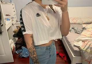 NWT AUTHENTIC KAPPA CROP TOP