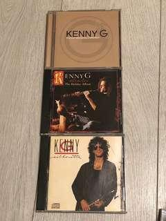 Kenny G CDs