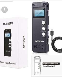 Homder digital voice recorder