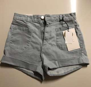 Cotton On HWS Classic Shorts (Light Blue)