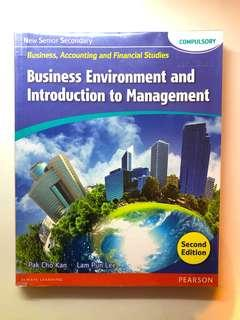 NSS BAFS Textbook Business Environment & Introduction to Management (Compulsory Part)