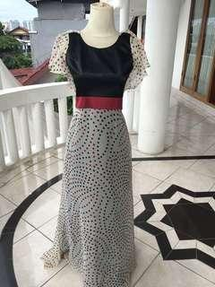 Classic chiffon long dress