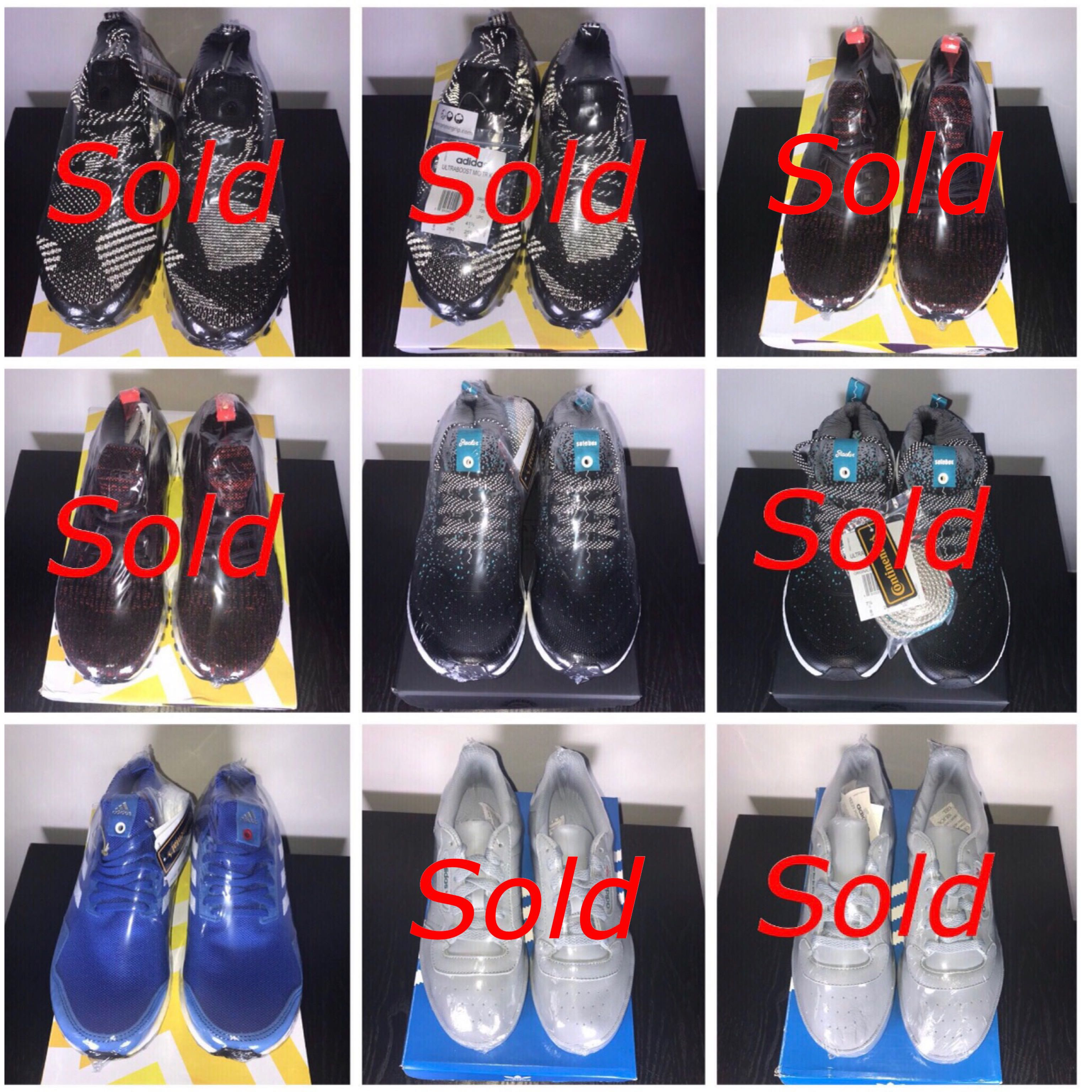 5732b3d7ef0 Adidas - Ultra Boost mid KITH x Nonnative ATR Bugundy Packer x ...