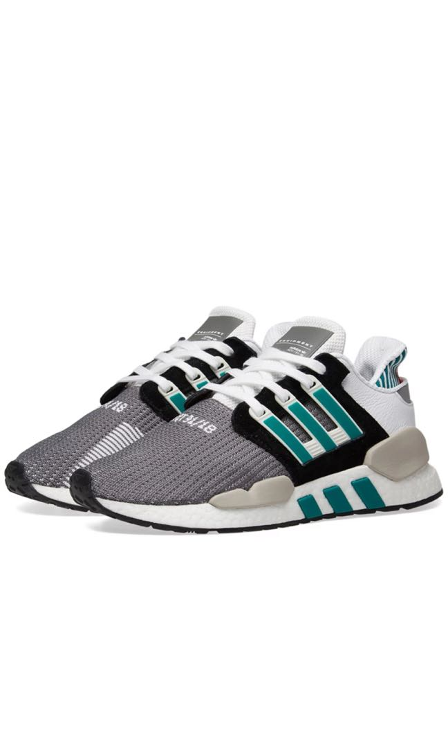 sale retailer 5c174 5e904 Adidas EQT Support 9118 Core Black Granite  Green (All size available) on  Carousell