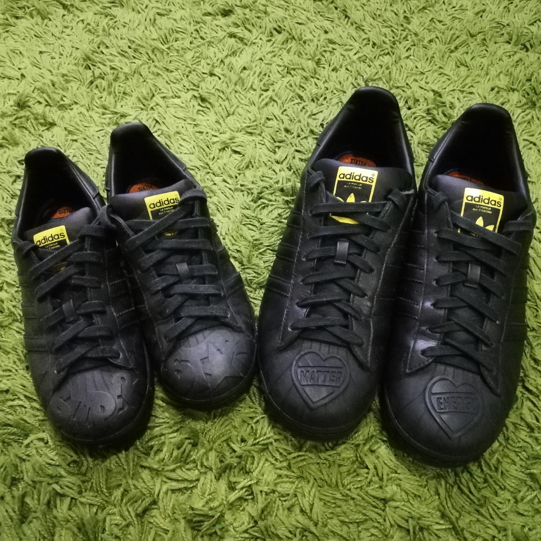 dcb26dd292242 Adidas Superstar Pharrell Williams Supershell couple shoes