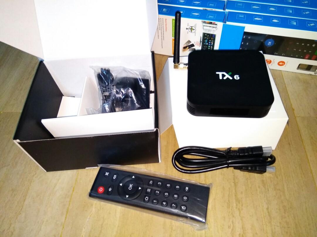 Android TV Box Tanix TX6, Home Appliances, TVs