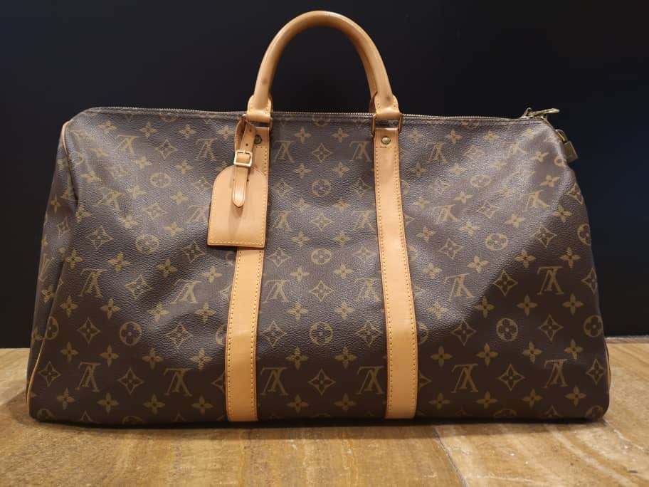 Authentic Louis Vuitton Monogram Keepall 45 4a4b97fabf3ab