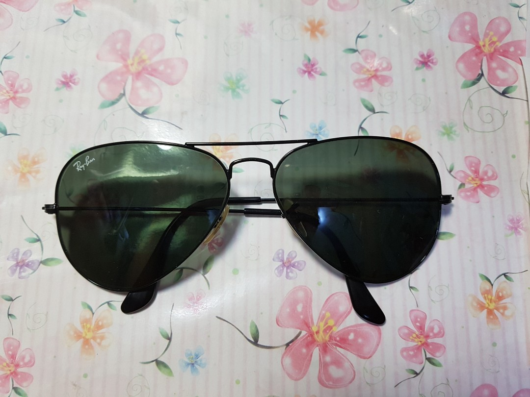 313b192d137fd7 Authentic Ray ban black G15 lens