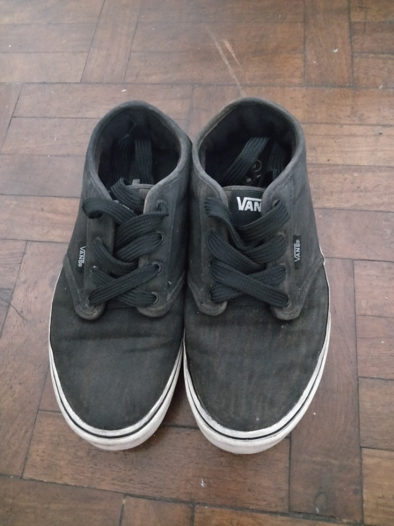 dd09bf8e31168 Authentic VANS Faded Black Shoes